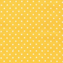Cozy Cotton Yellow Dots