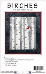 Birches Wall Quilt Pattern