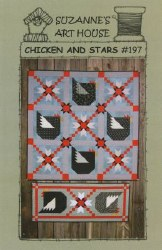 Chicken and Stars Pattern