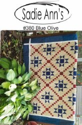 Blue Olive Pattern