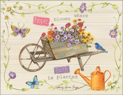 Note Cards Rustic Wheelbarrow