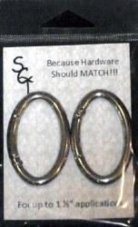 """1 1/2"""" Nickel Spring Ring"""