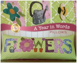 A Year in Words Flowers