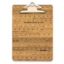 Clip Board Large Ruler