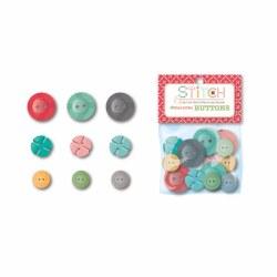 Stitch Cute Buttons Multi Size