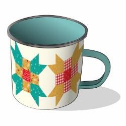 Farm Girl Vintage Enamel Mug