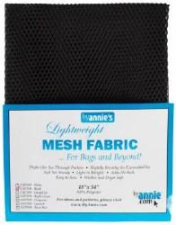 Mesh Lite Weight Black 18 x 54