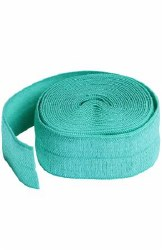 Fold-Over Elastic 3/4 Inch Tur