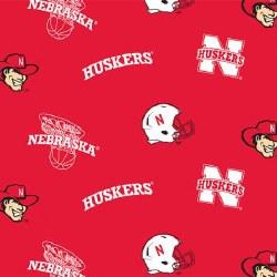 Nebraska Husker Helmets
