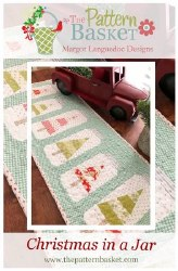Christmas Jars Tablerunner