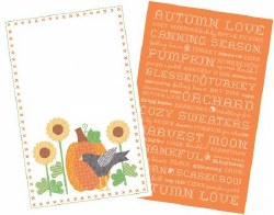 Autumn Love Tea Towels