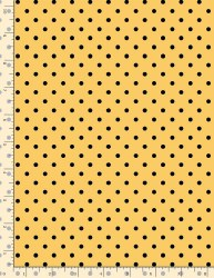 Dot Yellow With Black Dot