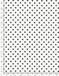 Dot White With Black Dot