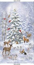 Winter Woodland Panel