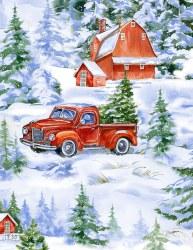 Winter Woodland Trucks