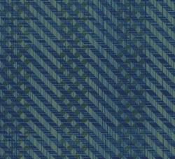 Pottery Herringbone Blue Teal