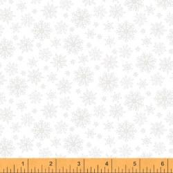 Simply White Snowflakes