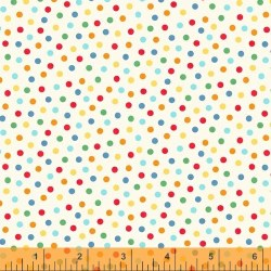 A to Zoo Dots Ivory Multi