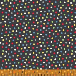 A to Zoo Dots Black Multi