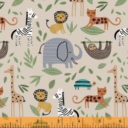 Cubby Bear Flannel Jungle Tan