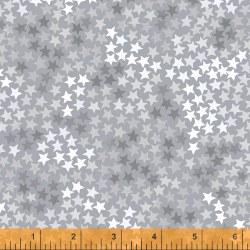 Cubby Bear Flannel Star Grey