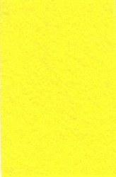 Wool Felt - Yellow 12 x 18