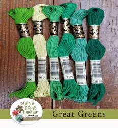 Great Greens Floss Pack