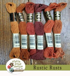 Rustic Rusts Floss Pack