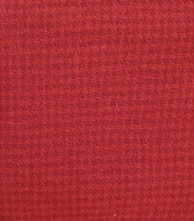 """Wool 18"""" x 27"""" Houndstooth Red"""