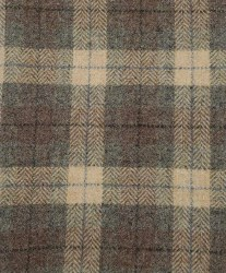 "Wool 18"" x 28"" Sandstone Plaid"