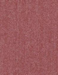 """Wool 9"""" x 28"""" Red White Herrin"""