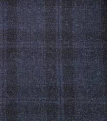 Wool Midnight Blue Yardage