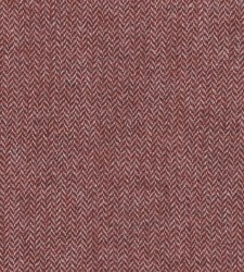 Wool Cranberry Narrow Herringb