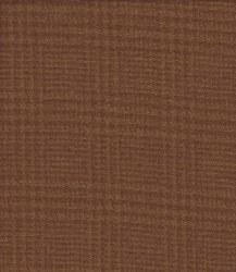 Wool Brown Glen Plaid