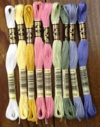 Wool Bundle Candy Store Floss