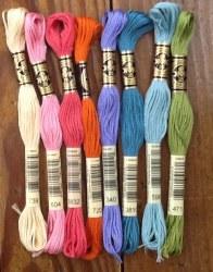 Wool Bundle -Carnival Floss