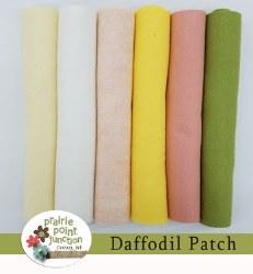 Wool Felt Daffodil Patch