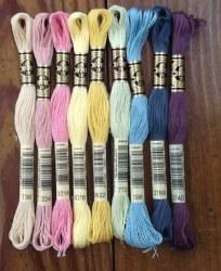 Wool Bundle Vintage Easter Fls