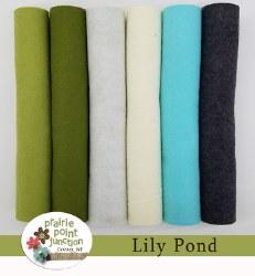 Wool Felt Lily Pond