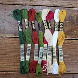 Wool Bundle -Santa Baby Floss