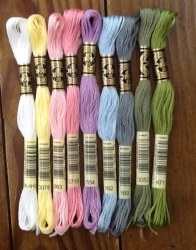 Wool Bundle Sugar Plum Floss