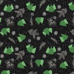 Gnome Antics Trees Black