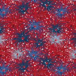 Liberty Lane Fireworks Red