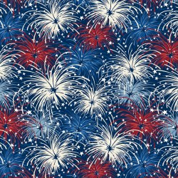Liberty Lane Fireworks Blue