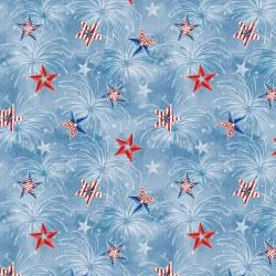 Liberty Lane Starburst Blue