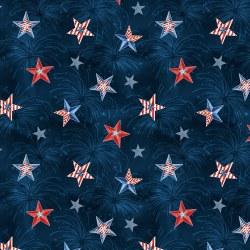 Liberty Lane Starburst Navy