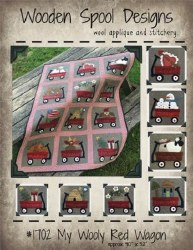 My Wooly Red Wagon
