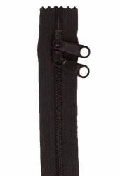 "Zipper 30"" Double Slide Black"