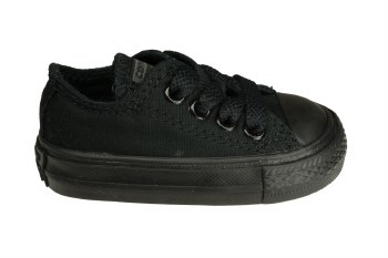 CONVERSE Chuck Taylor All Star ox black monochrome Toddlers Lifestyle Shoes 04.0
