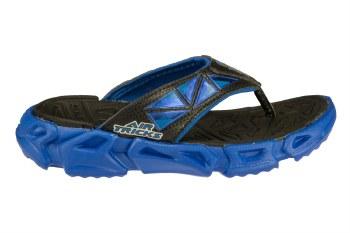 SKECHERS Fierce Flopz-Babel black/royal blue Little Kids Thong Sandals 011